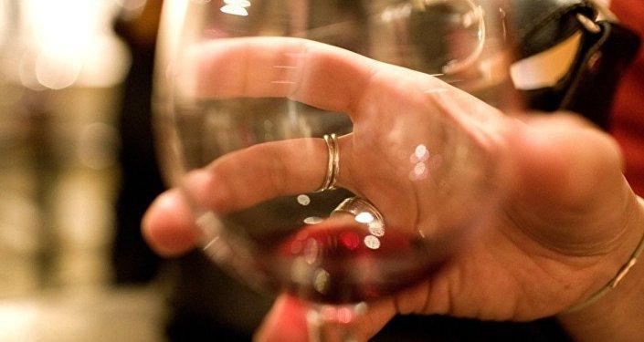 alkol - şarap