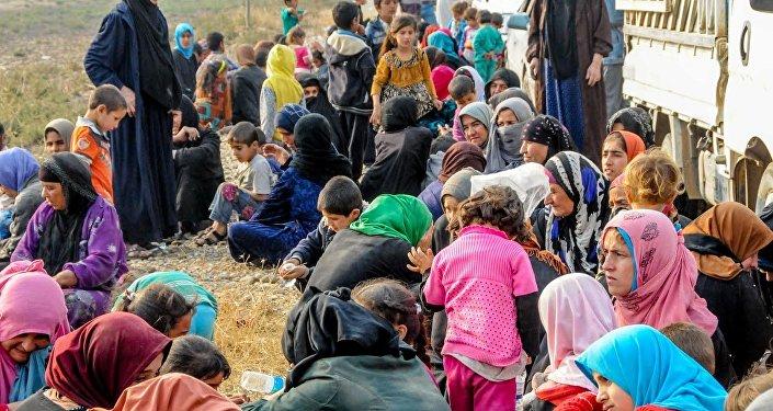 Musul'da IŞİD zulmünden kaçanlar