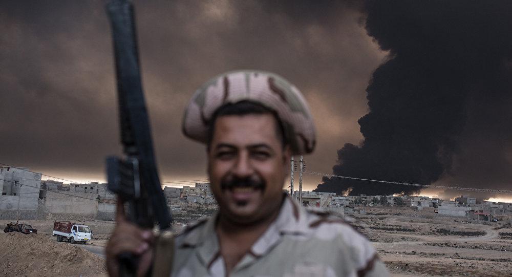 Musul operasyonu / Kayyara Üssü / Irak askeri