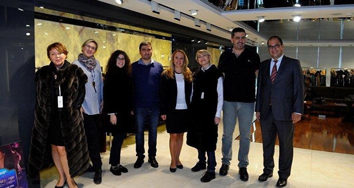 Rusya'nın önde gelen ajans ve gazete temsilcileri, Türk deri sektörünün çalışmalarını yerinde inceledi.