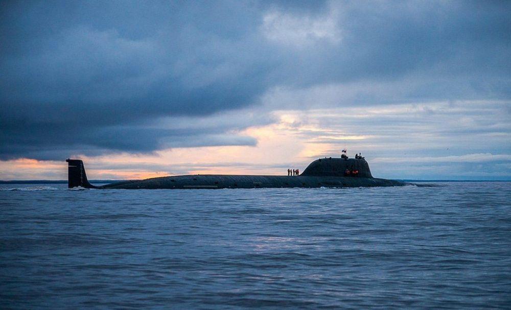K-560 tipi Severodvinsk nükleer denizaltısı.