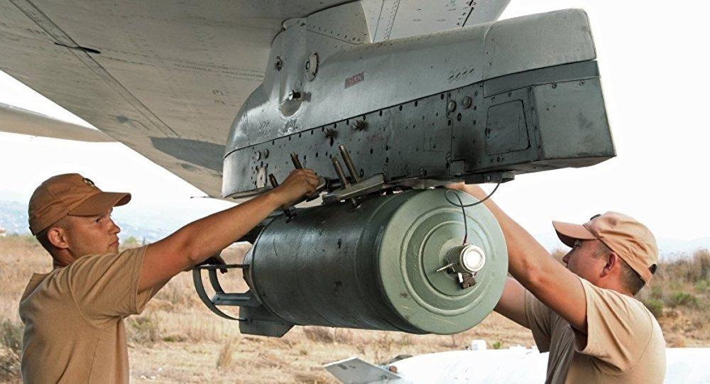 rus askerleri - bomba