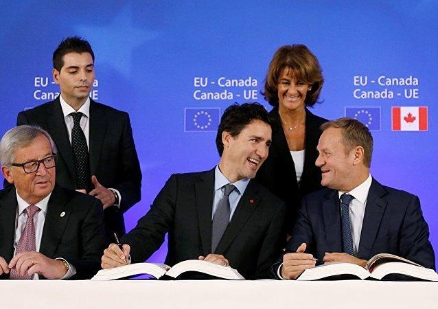 AB - Kanada - CETA anlaşması