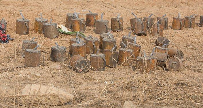 Işid'in mayın ve patlayıcıları-Irak