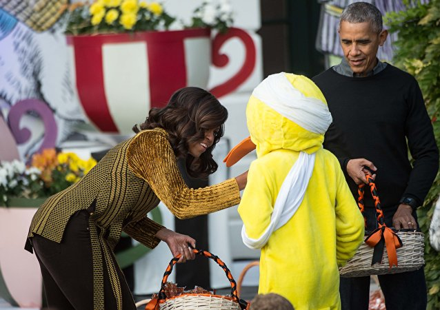 ABD Başkanı Barack Obama- First Lady Michelle Obama