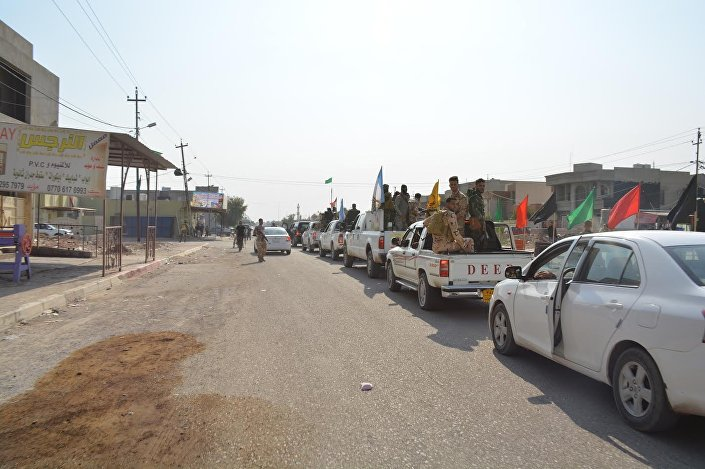 Haşdi Şabi milisleri Musul operasyonunda