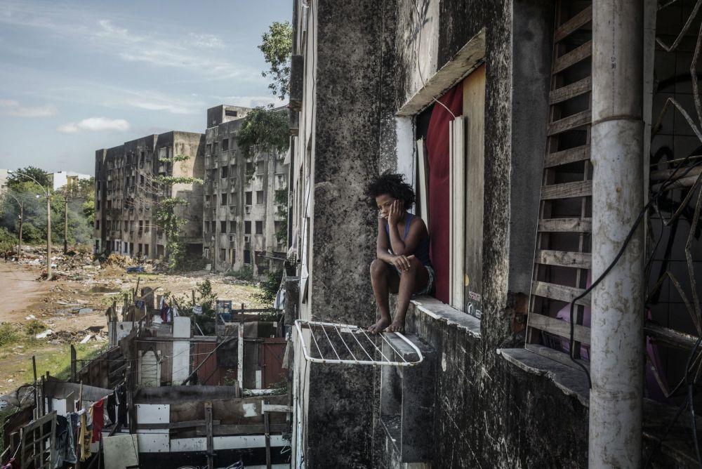Brezilyalı fotoğrafçı Peter Bauza'nın çektiği 'Copacabana Sarayı' fotoğrafı.