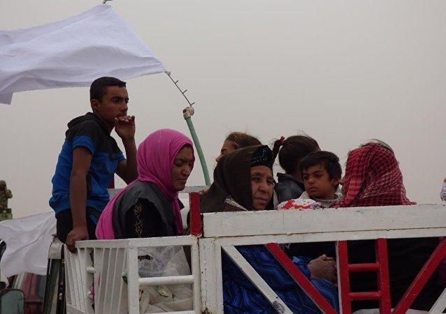 Musul'dan yoğun göç dalgası devam ediyor