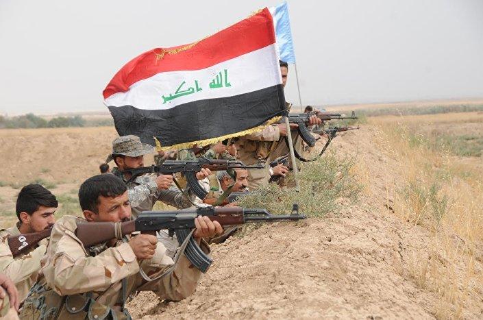 Musul'da IŞİD'e karşı savaşan Haşdi Şabi milisleri