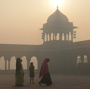 Yeni Delhi'de hava kirliliği
