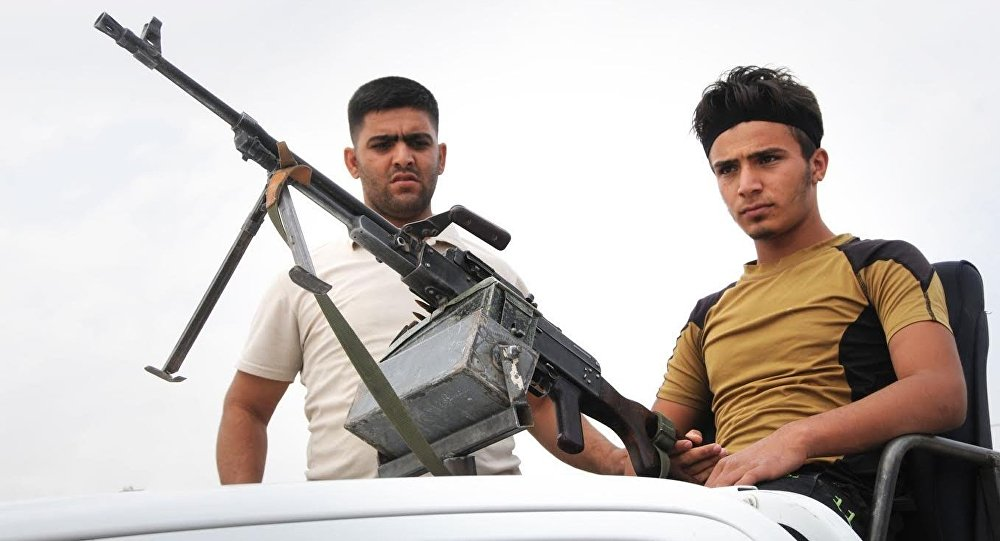 Haşdi Şabi'nin sivil milisleri