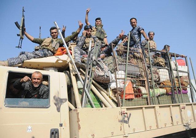 Irak Ordusu, Musul'un merkezine girmek üzere