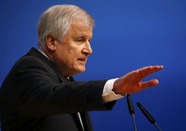 Hristiyan Sosyal Birlik Partisi (CSU) Genel Başkanı ve Bavyera Eyaleti Başbakanı Horst Seehofer