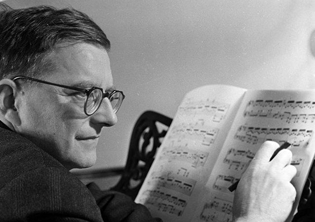 Sovyet besteci Dmitriy Şostakoviç