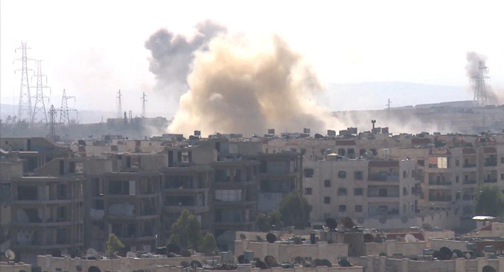 Halep'in batısında Suriye ordusu ile militanlar arasındaki çalışmalar