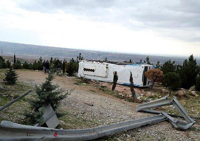 İran'da otobüs kazası