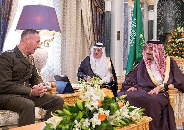 ABD Genelkurmay Başkanı Dunford Suudi Arabistan'da