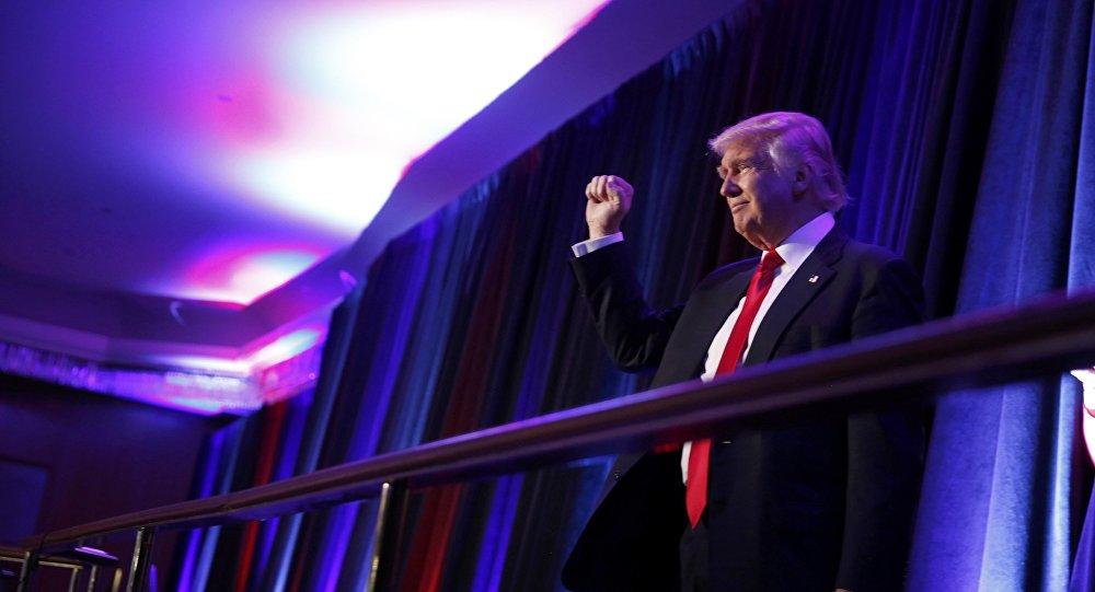 Yeni ABD Başkanı Donald Trump, seçim zaferinin ardından Manhattan'da seçmenlerine seslendi