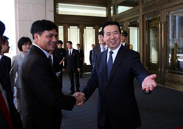 Interpol Başkanı Meng Hongwei