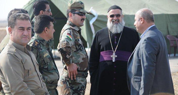 Musul operasyonu devam ederken Musullu Hristiyanlar da Irak ordusu ve Peşmerge'ye destek veriyor.