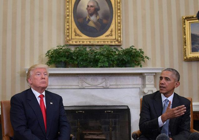 ABD'nin 45. ve 46. başkanları Donald Trump ile Barack Obama