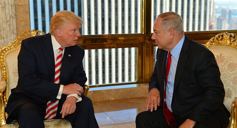 ABD'nin yeni başkanı Donald Trump- İsrail Başbakanı Benyamin Netanyahu