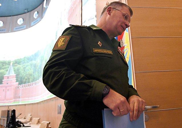 Rusya Savunma Bakanlığı Sözcüsü İgor Konaşenkov
