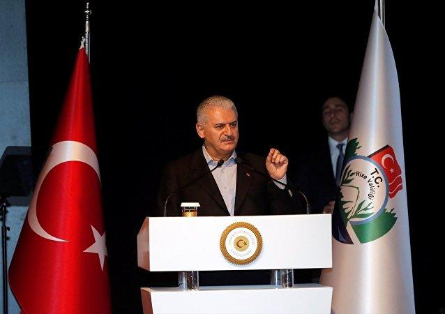 Başbakan Binali Yıldırım, Rize'de Recep Tayyip Erdoğan Üniversitesi'nde STK temsilcileriyle biraraya geldi