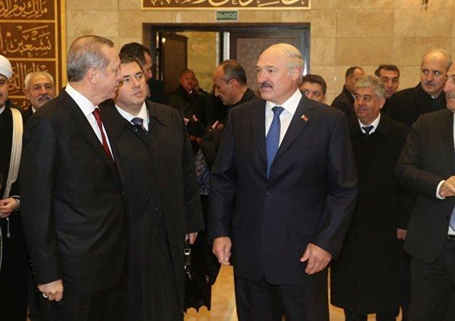 Recep Tayyip Erdoğan - Aleksandr Lukaşenko