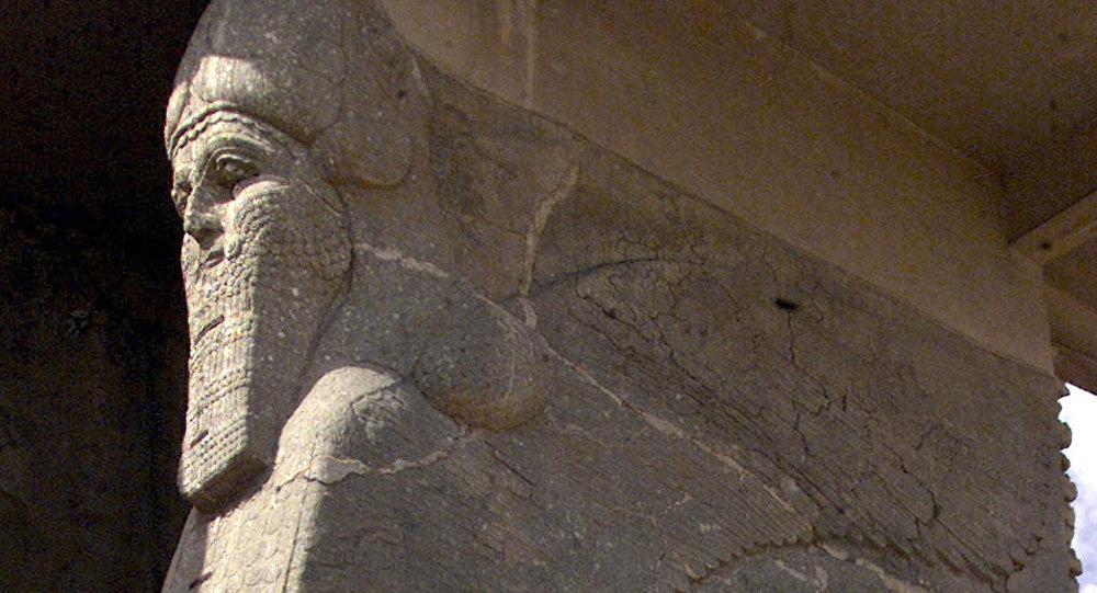 Irak'taki Nemrud antik kenti