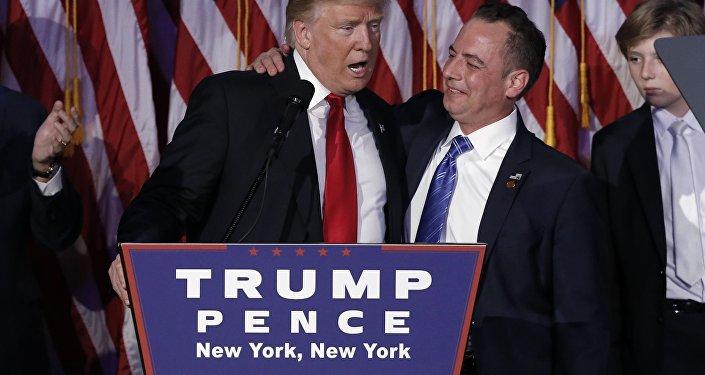 Trump ve Beyaz Saray Özel Kalem Müdürlüğü'ne atadığı Reince Priebus