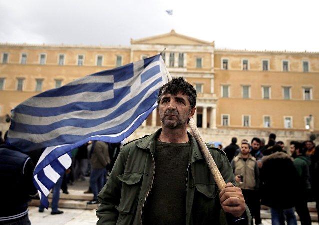 Atina'daki çiftçi eylemleri