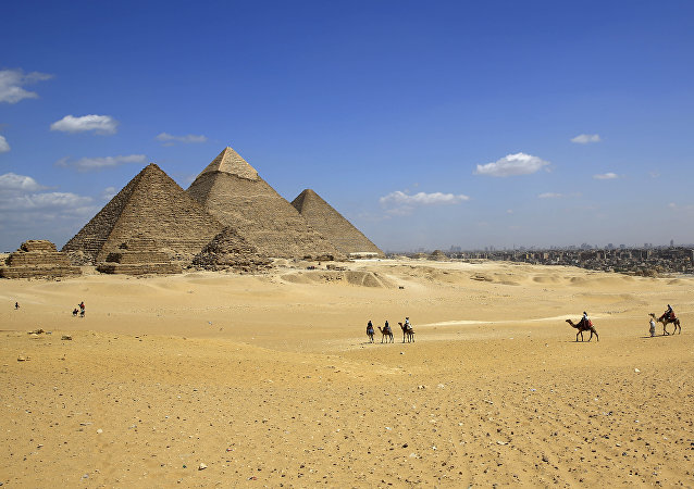 Mısır / Giza Piramidi