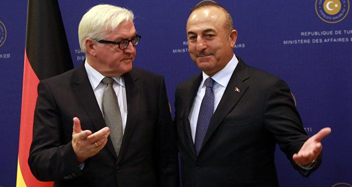 Frank Walter Steinmeier - Mevlüt Çavuşoğlu