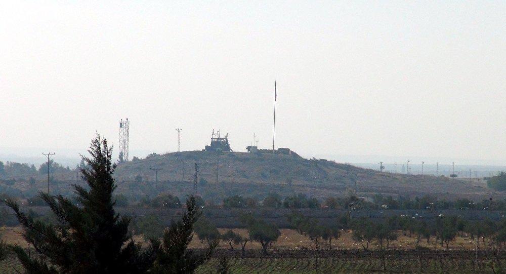 Azez'deki Esselame sınır kapısı yakınlarında dünden beri süren çatışmaların ardından bölge sessizliğe gömüldü.