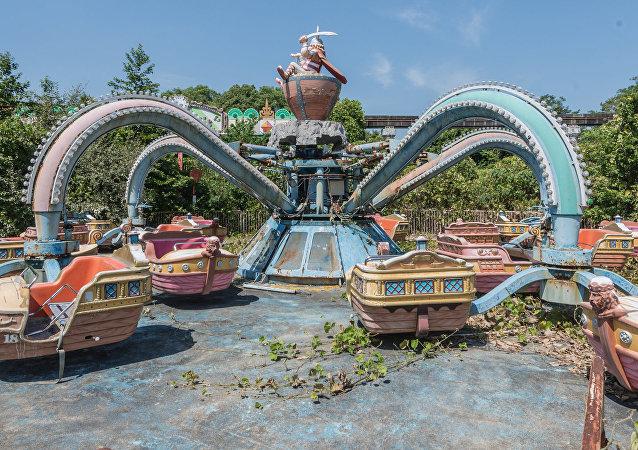 Japonya'daki eğlence parkı Nara Dreamland 'hayalet kente' dönüştü