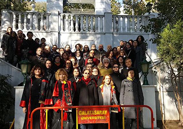 Galatasaray Üniversitesi'nden rektör atamalarına tepki