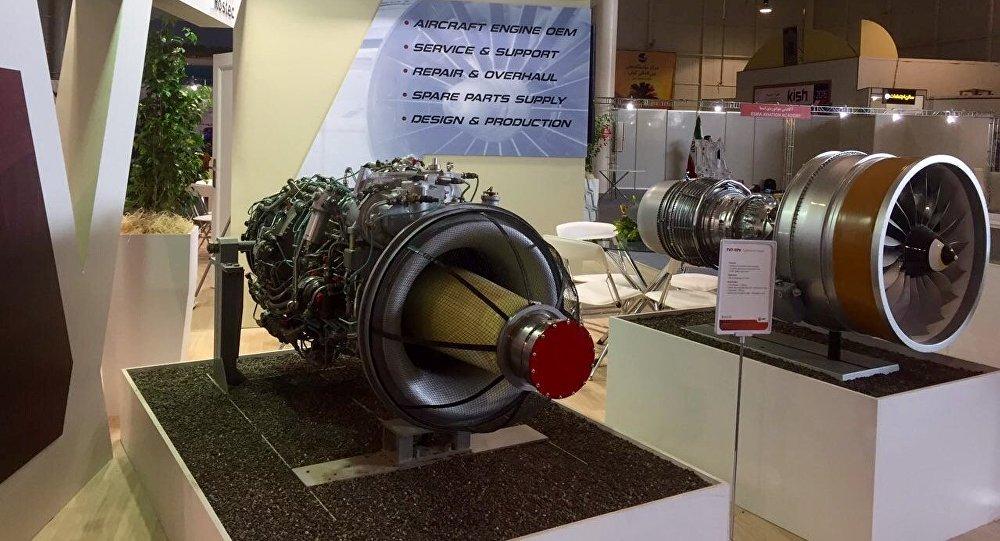 Rus Birleşik Motor İnşaat şirketi ODK'ye ait uçak motorları.