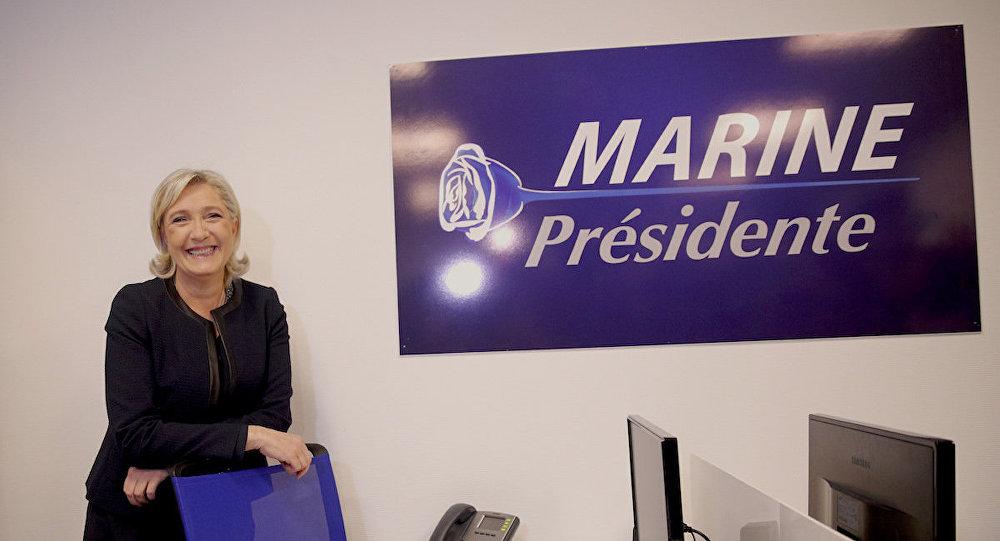 Ulusal Cephe (FN) lideri Marine Le Pen
