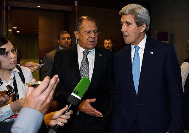 Sergey Lavrov - John Kerry / RT