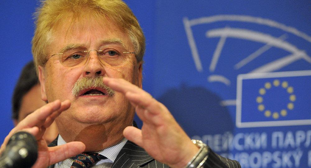 Avrupa Parlamentosu Dış İlişkiler Komisyonu Başkanı Elmar Brok