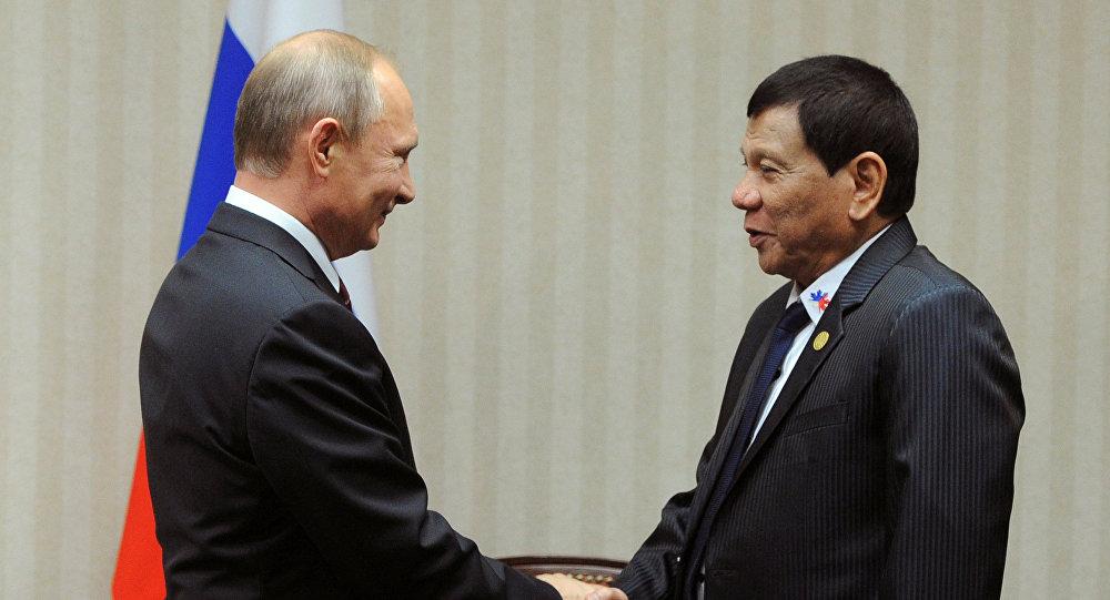 Vladimir Putin - Rodrigo Duterte