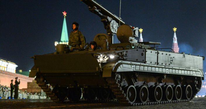 Hrizantema-C isimli tanksavar füze sistemi.