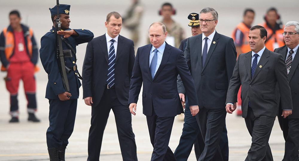 Rusya Devlet Başkanı Vladimir Putin / Peru'daki APEC zirvesinde