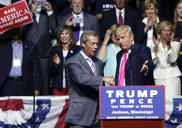 Donald Trump- Nigel Farage