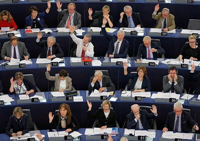 Avrupa Parlamentosu'nda milletvekilleri