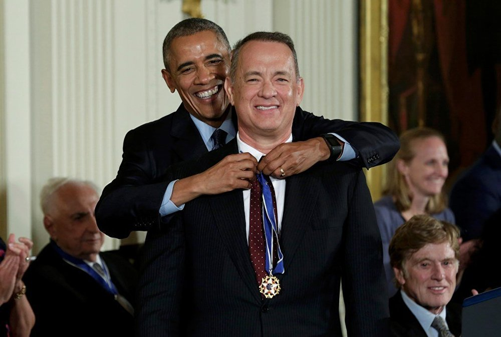 Barack Obama - Tom Hanks