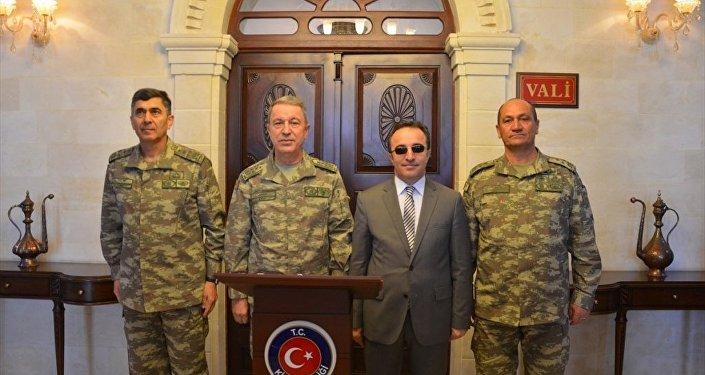Genelkurmay Başkanı Orgeneral Hulusi Akar'ın Kilis ziyareti