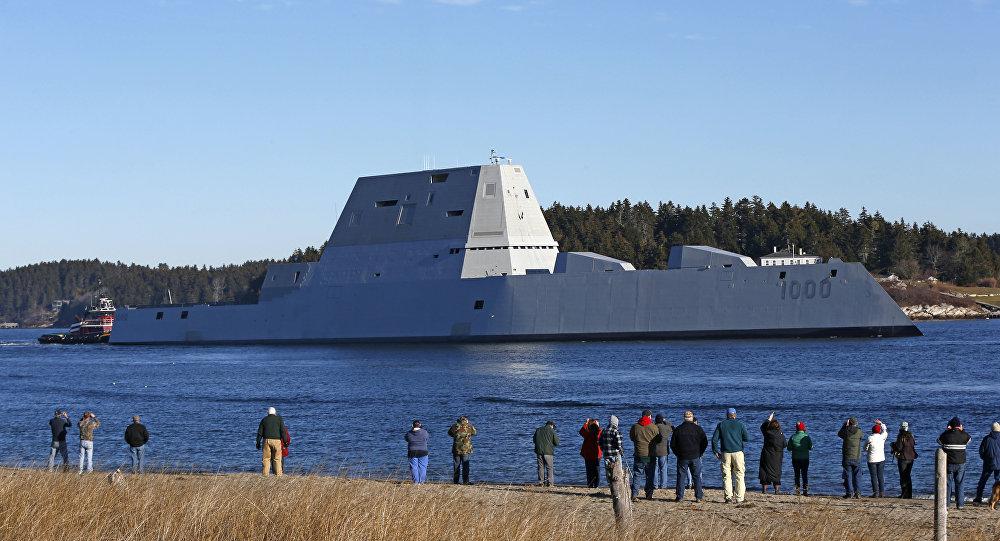 ABD tarihinin en pahalı destroyeri yine yolda kaldı