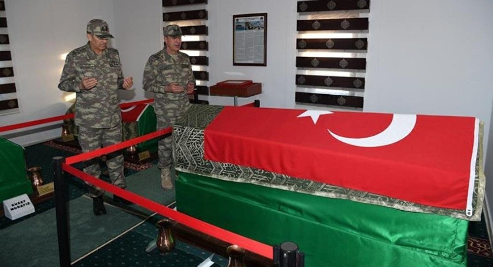Hulusi Akar, Süleyman Şah Türbesi'nde